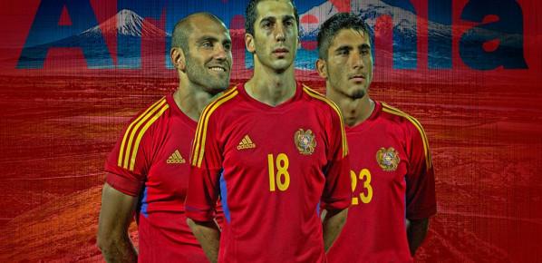 l'Arménie qui humilie 4-0 le Danemark à Copenhague !